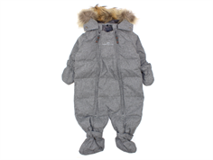 Ver de Terre baby winter suit down mahogany rose